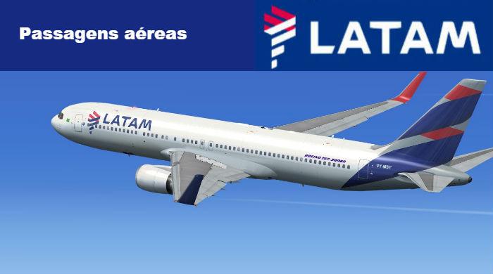 LATAM Passagens Aéreas - LATAM Linhas Aéreas